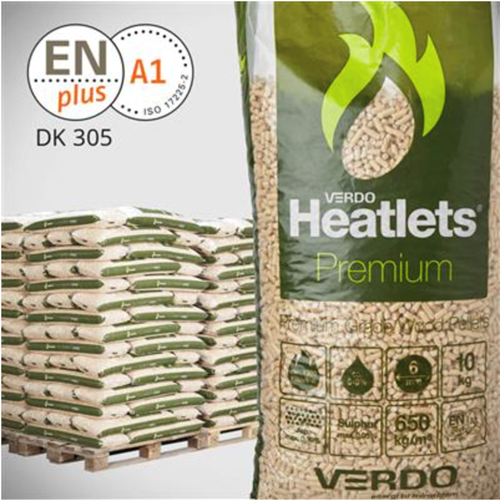 Heatlets 6 mm  palle Premium (10 kg / pose)
